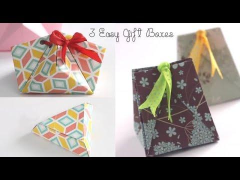 3 Easy Gift Box