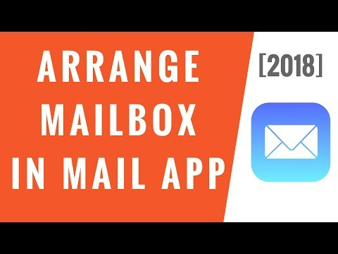 Arrange Mailbox in Mail App on iPhone [2018]