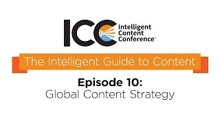 ICC Presents - The Intelligent Guide To Content Terms- Global Content Strategy