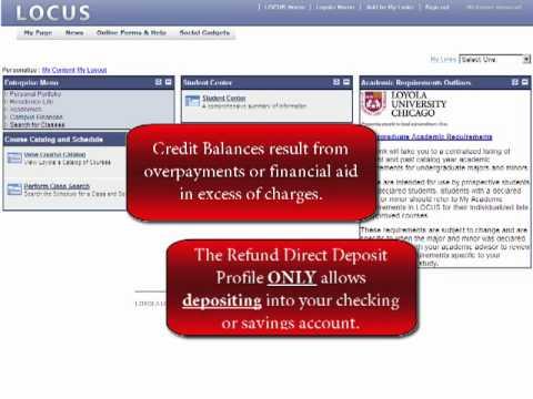 Refund Direct Deposit