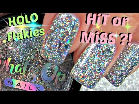 100% PURE UNCUT HOLO   Holographic Flakies Hit Or Miss ?!