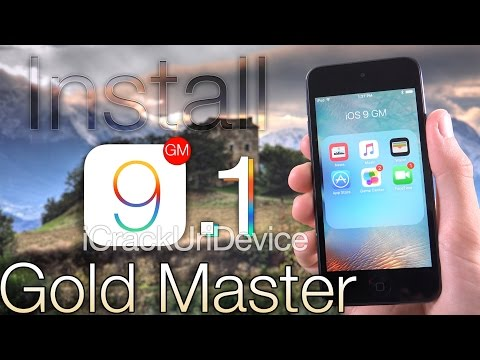 NEW Install iOS 9 GM & iOS 9.1 Early FREE How To Gold Master Without UDID - ANY iPhone, iPod & iPad