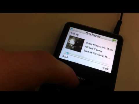 iPod 30gb 5th Gen (eBay listed)