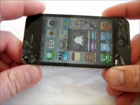 iPhone 4 with broken screen for Verizon GOOD ESN NUMBER GUARANTEED