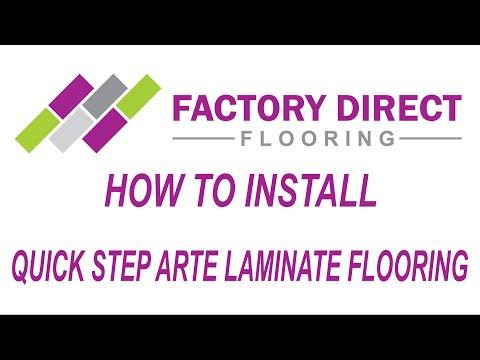 How To Install Quick Step Arte Laminate flooring