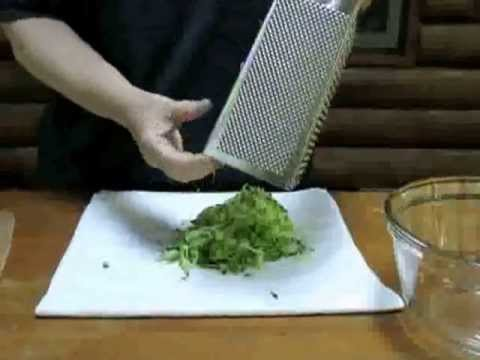 Shredding and Squeezing Water Out of Your Zucchini (The Perfect Pantry®)