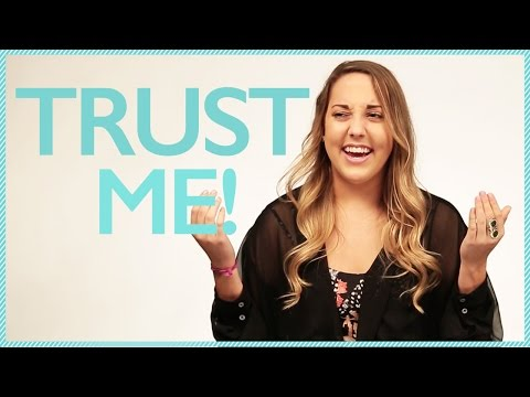HOW TO GET YOUR PARENTS TO TRUST YOU w/ Lexie Lombard