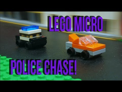 LEGO Micro Police Chase!