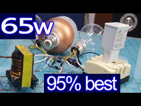 12v to 230v, 120v inverter 65w Performance 95%, best power saving  Used for electrical appliances