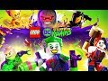 LEGO DC SUPER VILLAINS Movie Cutscenes Only 1080p 60FPS