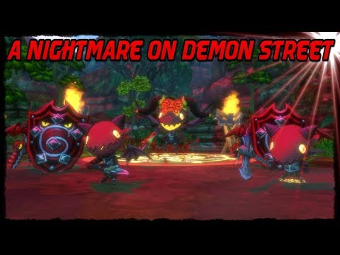 A Nightmare On Demon Street Event Dungeon! [Happy Dungeons]