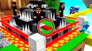 OVERPOWERED BED DEFENSE IN MINECRAFT BED WARS!