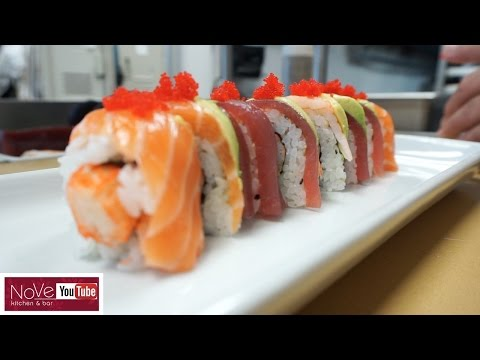 Rainbow Roll - How To Make Sushi Series