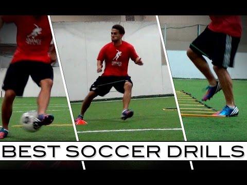 Best Soccer Drills | Ball Skills and Speed Training