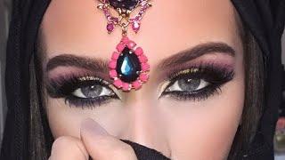 Dramatic Arab Style Eye Makeup Tutorial