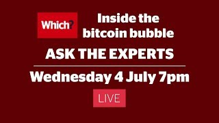 Inside the bitcoin bubble - Ask the Experts - Live stream