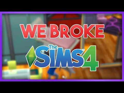 WE BROKE THE SIMS!! - The Sims 4 Multiplayer