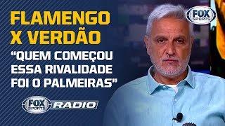 """FLAMENGO X PALMEIRAS: VÍDEO É DIVULGADO, RIVALIDADE CRESCE CADA VEZ MAIS E GERA DEBATE NO """"FS RÁDIO"""""""