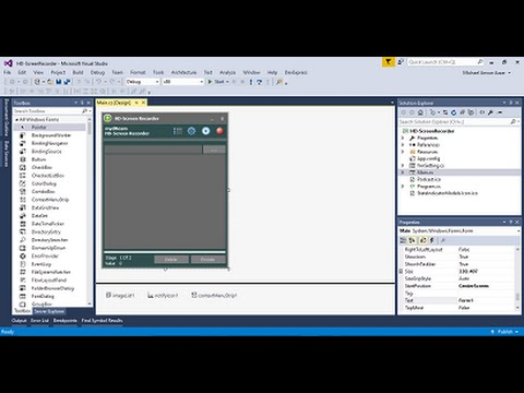 How to make HD Screen Recorder using C# or vb.net with MEE 4 part 01