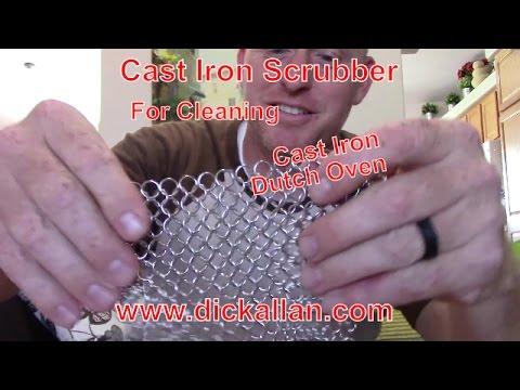 Cast Iron Scrubber
