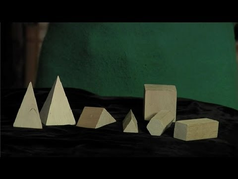 How to Teach Children About Prisms & Pyramids : Fun with Prisms