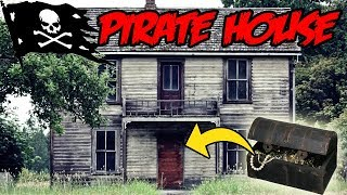 DONT GO TO A HAUNTED PIRATES HOUSE OVERNIGHT OR TREASURE WILL APPEAR!! | WE FOUND TREASURE