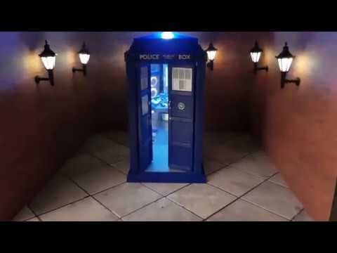 TARDIS model - Bigger on the inside