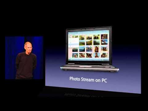Apple iCloud - Photo Stream - 2011 WWDC Keynote