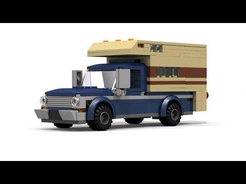 LEGO Ford F Camper Tutorial