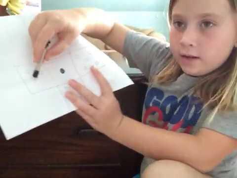 how to make paper dice DIY