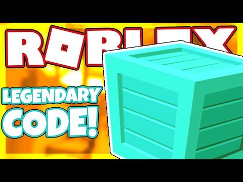 CODE FOR A *LEGENDARY* CRATE | Roblox Mining Simulator