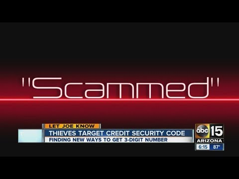 Thieves finding new ways to take your credit card number