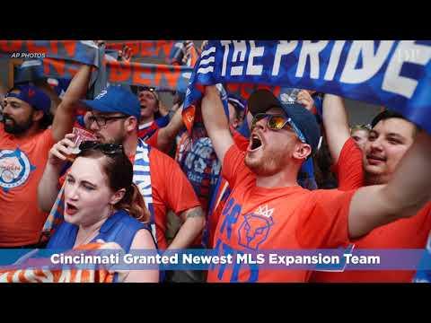 Cincinnati Granted Newest MLS Expansion Team