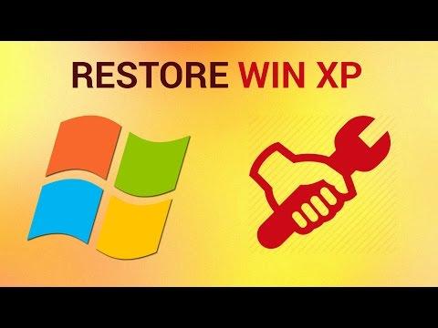How to restore windows xp