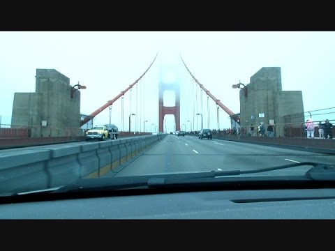 Golden Gate Bridge Drive Across And Other Views