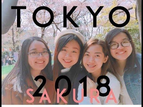 Sharon Wei TRAVEL VLOG   TOKYO 2018 KONNICHIWA Let's Go!