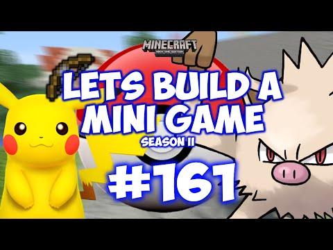 Minecraft Xbox - Lets Build A Mini Game World - 161 - POKEMON GO!!
