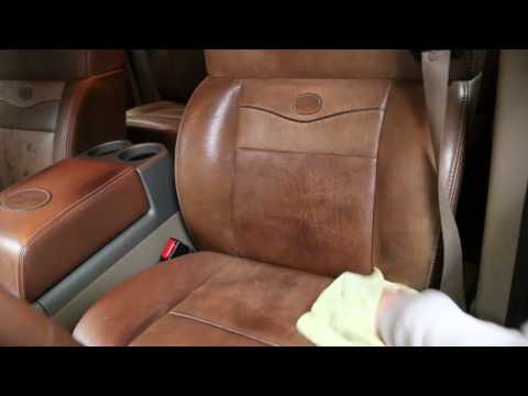 Cleaning / Conditioning Leather - King Ranch Seats Interior F150