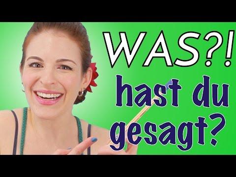 Funny Things I Say in German (VIDEO AUF DEUTSCH!)