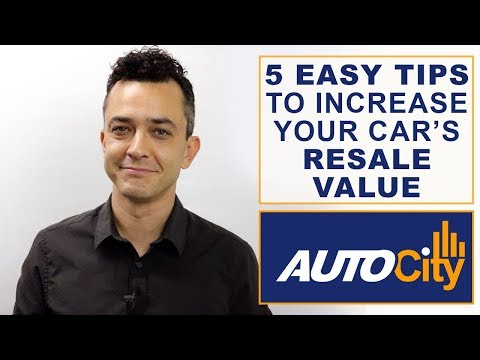 5 Easy Tips To Increase Your Car's Resale Value