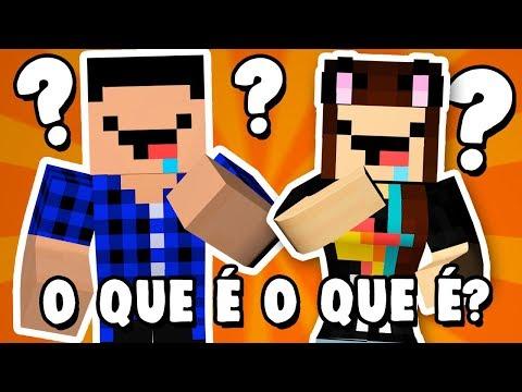 NÓS SOMOS BURROS OU ESPERTOS? - Minecraft