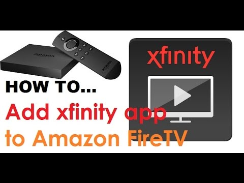 How to install Xfinity app on Amazon Fire TV ★ 2017 ★