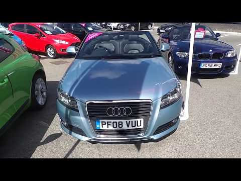 Audi A3 2.0TDi Sport Cabriolet For Sale at Motor Match Bolton