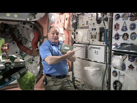 Astronaut Scott Tingle Talks Nutrition in Space