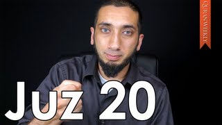 Healing for Emotional Suffering [Juz 20] - Nouman Ali Khan - Quran Weekly
