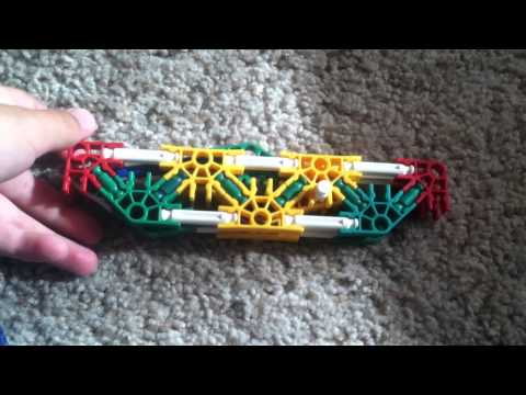 How to build a knex knife