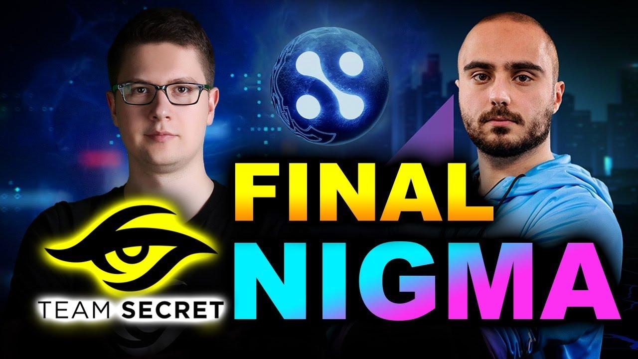 NIGMA vs SECRET - GRAND FINAL - WEPLAY! MAD MOON DOTA 2
