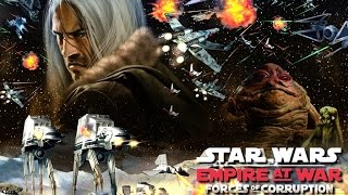 STAR WARS: Empire at War Forces of Corruption All Cutscenes (Game Movie) 1080p 60FPS HD