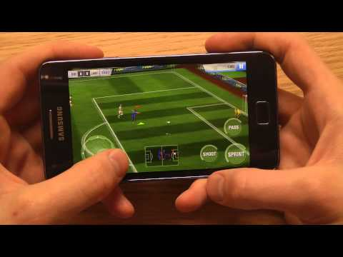 Real Football 2013 Galaxy S2 Plus Gameplay Review
