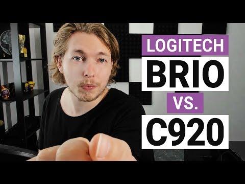 Logitech BRIO vs C920 Comparison | Best Webcam 2018 | Best Webcam for Twitch | Best 4K Webcam